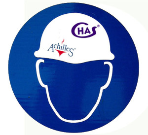 Image promoting accreditation for CHAS and Achilles