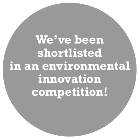 roundel with ubu shortlisted in an environmental innovation competition