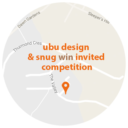 Roundel with Competition Win for Ubu Design & snug architects